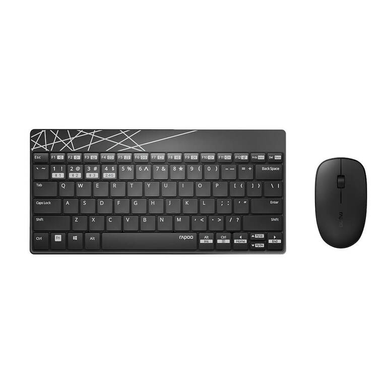 Keyboard/Mus Sett 8000M Multi-Mode (Trådløst)