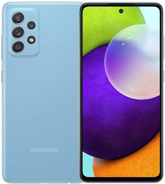 Samsung Galaxy A52 SM-A525F/DS (6GB RAM) 128GB Blå