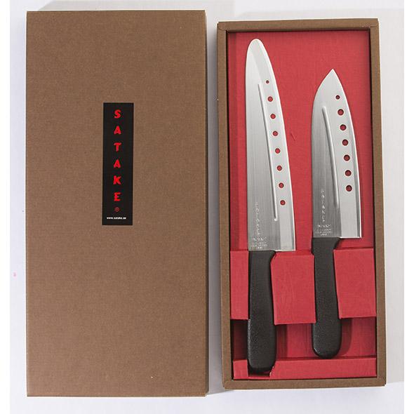 Satake NoVac Knivset 2 knivar