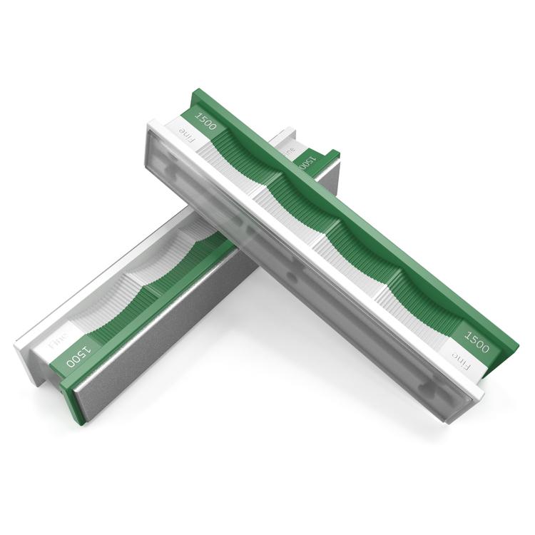 Wicked Edge Diamantsten 1500 grit och Glas-platta (2-pack)
