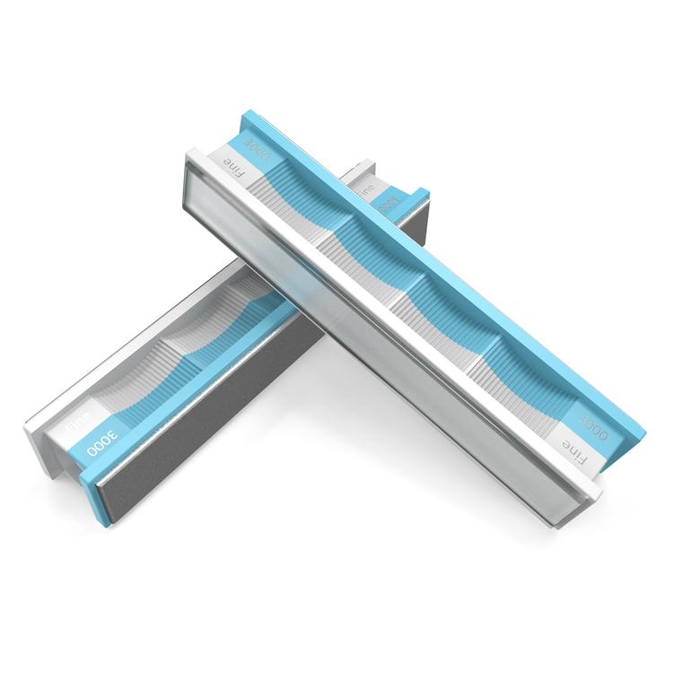 Wicked Edge Diamantsten 3000 grit och Glas-platta (2-pack)