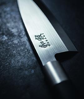 Kai Shun Wasabi Black Santoku 16,5 cm