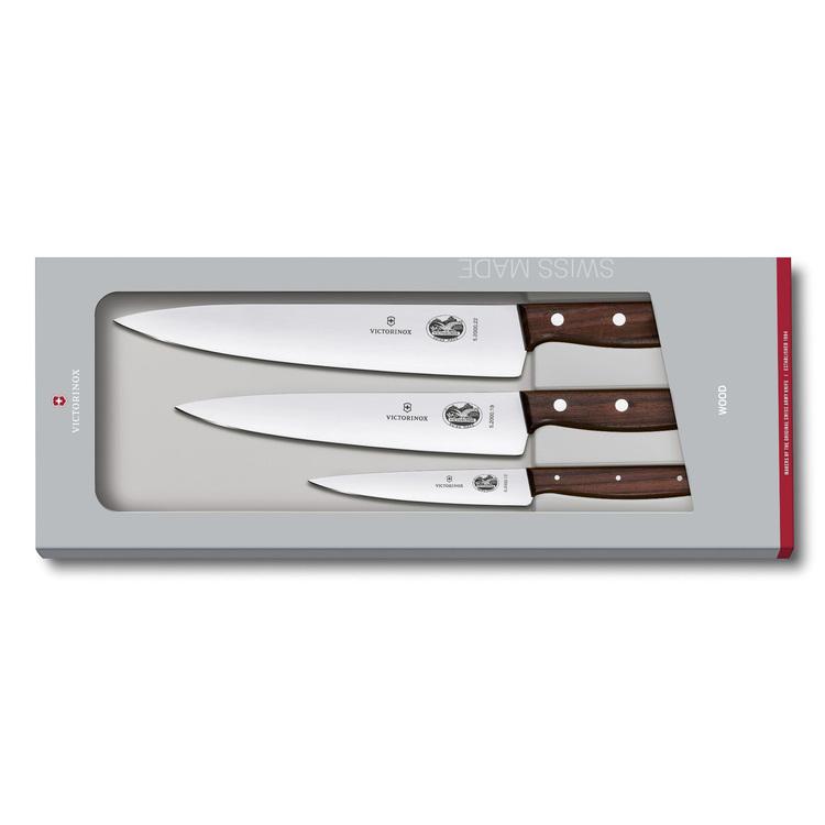 Victorinox Rosewood Knivset 3-knivar