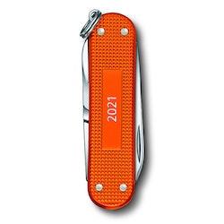 Victorinox Classic Alox Tiger Orange Fickkniv