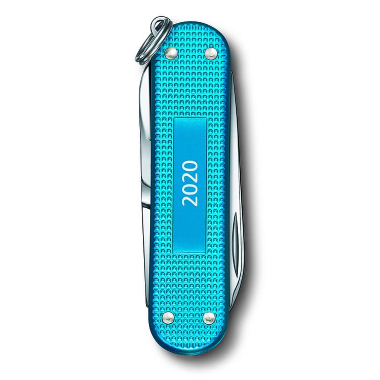 Victorinox Classic Alox Aqua Blue Fickkniv
