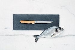 Öyo Triangel Filekniv 17,5 cm med magnetskydd i filt