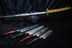 Mcusta Zanmai Revolution Kockkniv 21 cm Svart