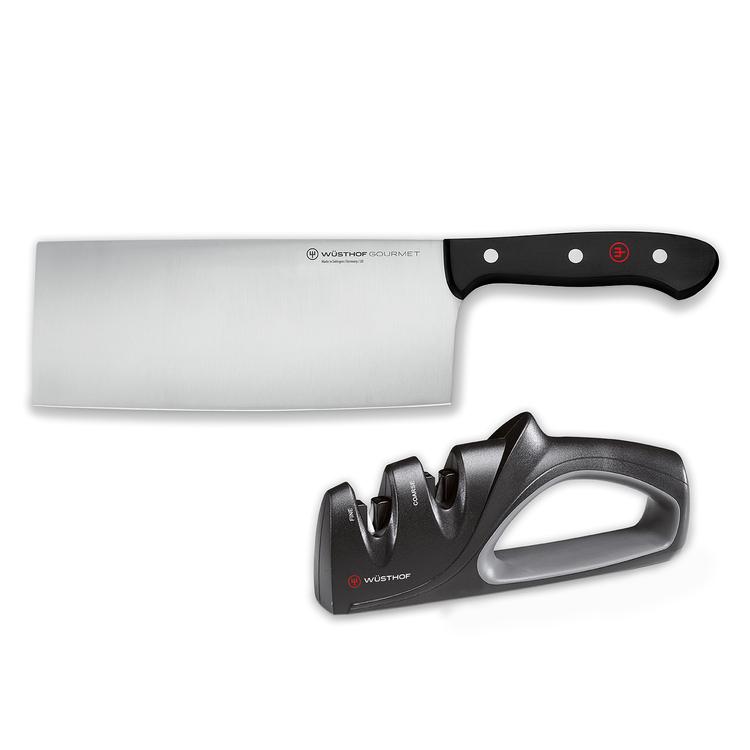 Wüsthof Gourmet Kinesisk Kockkniv med knivslip