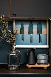 Øyo Smaragd knivset 3 delar