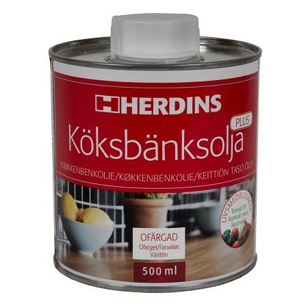 Herdins Köksbänksolja Plus 500 ml