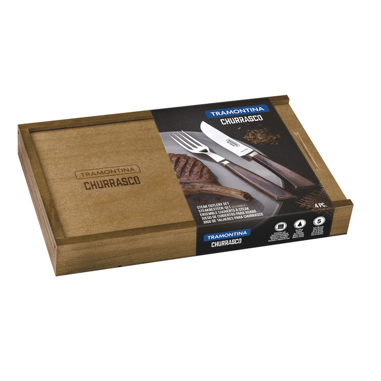 Tramontina Churrasco Premium Grillbestick 4 delar