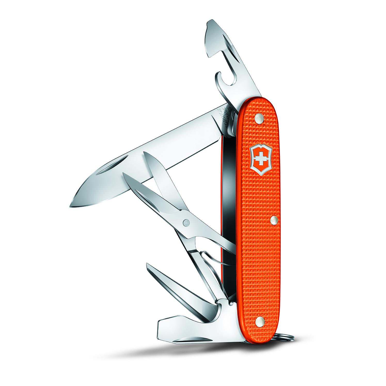 Victorinox Pioneer X Alox Tiger Orange Fickkniv
