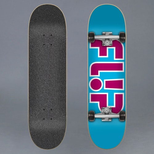 Flip Team Light Blue 7.25 Komplett Skateboard