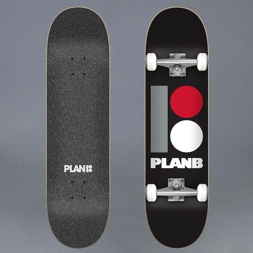 """Plan B Original 8.0"""" Komplett Skateboard"""