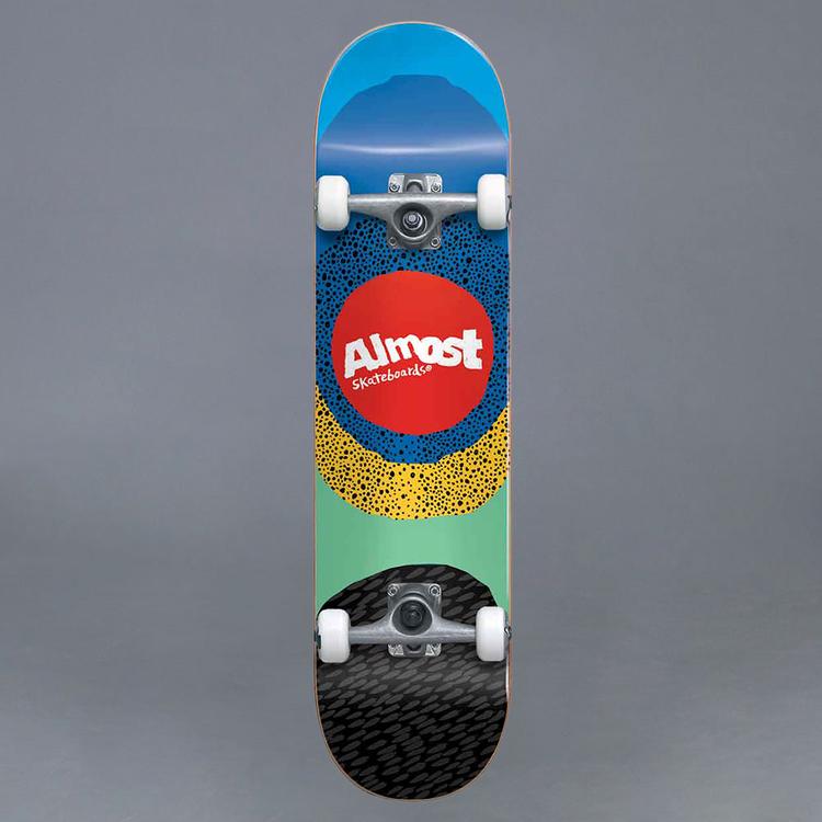 """Almost Radiate FP Blue 8.25"""" Komplett Skateboard"""