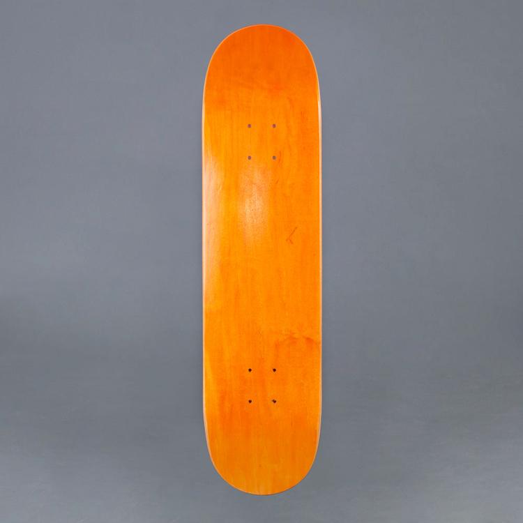 "MrBoard Skateboard Deck ORG 7.75"""