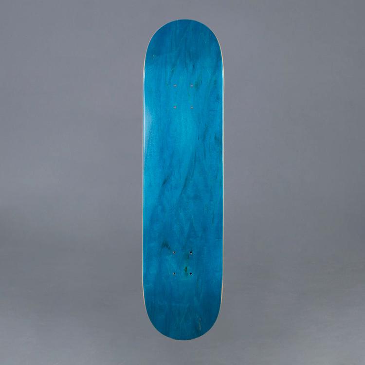 "MrBoard Skateboard Deck Teal 8.0"""