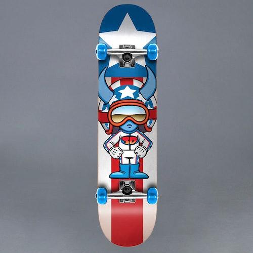 """Speed Demons Characters Stars 7.25"""" Komplett Skateboard"""