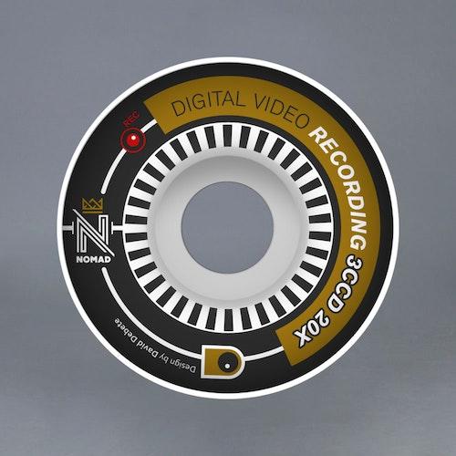 Nomad Filmer 53mm SOFT Skateboard Hjul