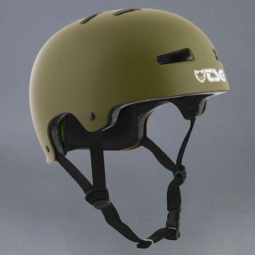 TSG Evolution skateboardhjälm Satin Olive S/M 54-56cm