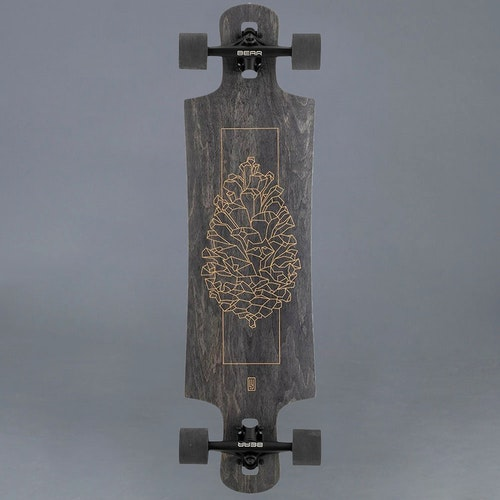 Landyachtz Drop Hammer Black Pinecone Komplett Longboard