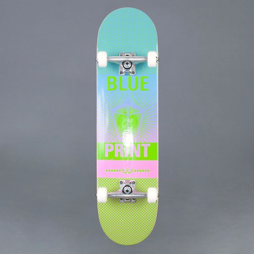 "Blueprint Pachinko Green 8.125"" Komplett Skateboard"