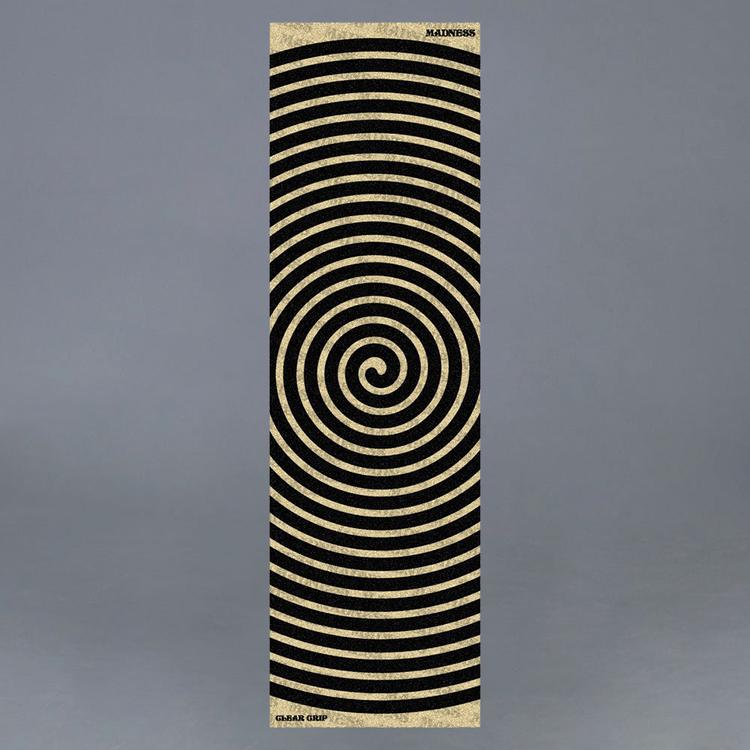 "Madness Swirl 10"" Clear Griptape"