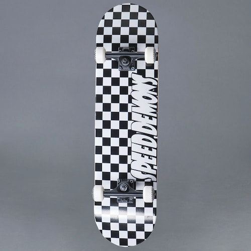 Speed Demons Checkers 8.0 Komplett Skateboard