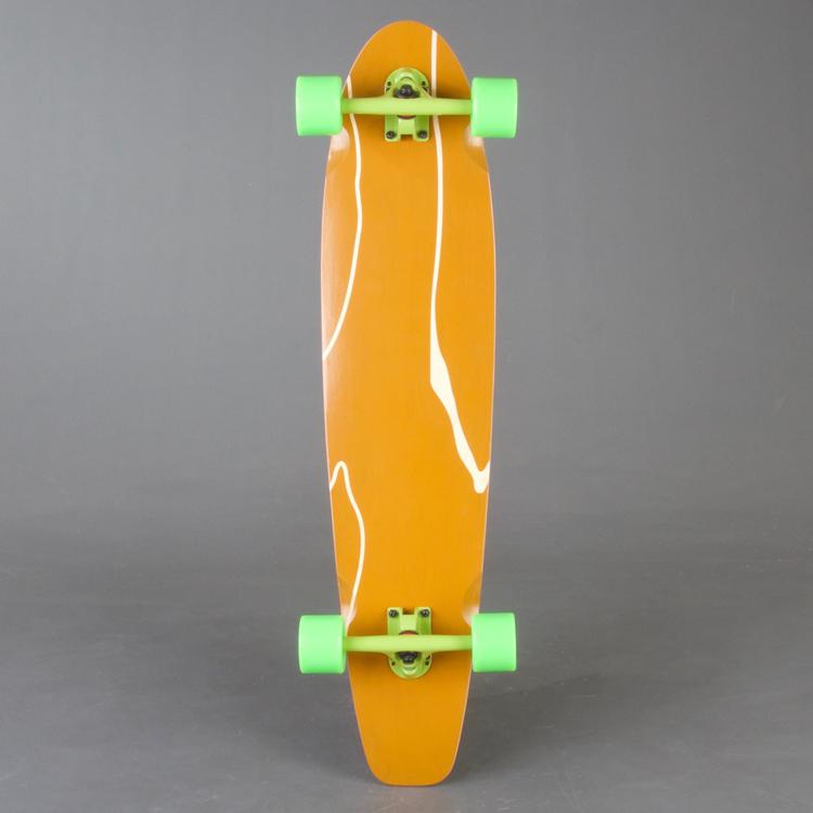 Mrboard Kicktail Green Komplett 38,5 STD