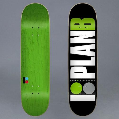 Plan B Team Green 8.0 Skateboard Deck