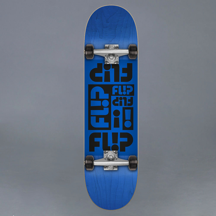 Flip Odyssey Blue 7.75 Komplett Skateboard