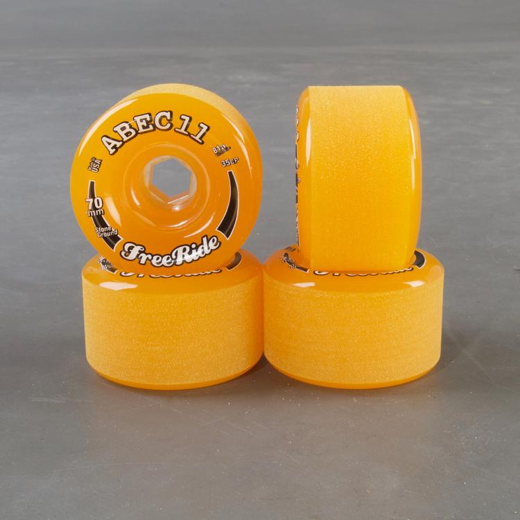 Abec 11 Freeride 70mm 81a Hjul