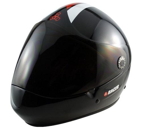 Triple-8 T8 Racer Downhill Fullface Helmet Svart