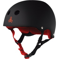 Triple Eight Brainsaver black/Red hjälm