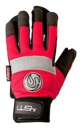 Lush freeride slide gloves (röda)