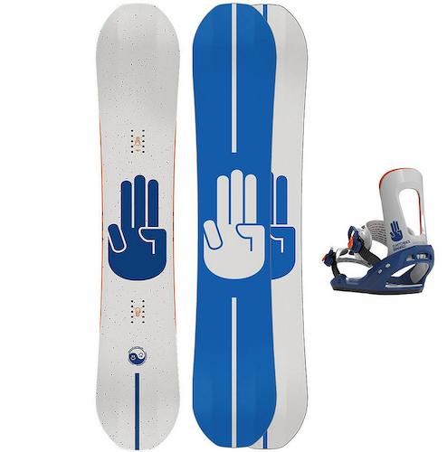 Bataleon Snowboardpaket Chaser 159 Wide + Chaser L