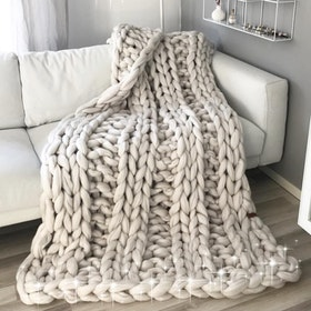 Chunky blanket, size L