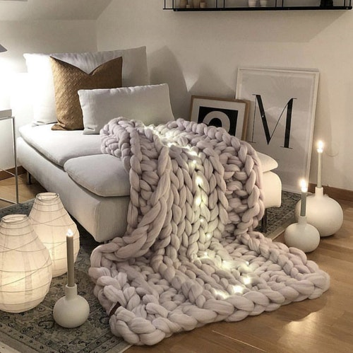 Chunky blanket, size M