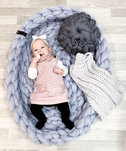CHUNKY KNIT PLAY POOL