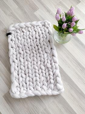 SBC Chunky baby blanket, 50x80cm
