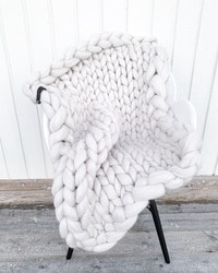 SBC Chunky blanket, S 80x100cm
