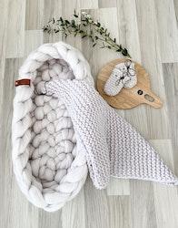 SBC merino wool baby blanket