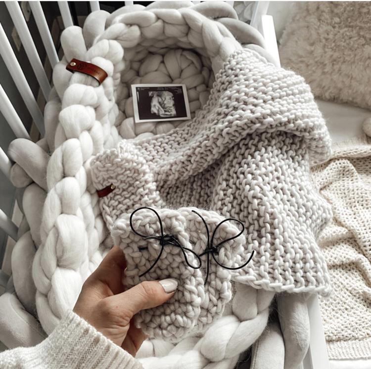 MERINO WOOL BABY BLANKET