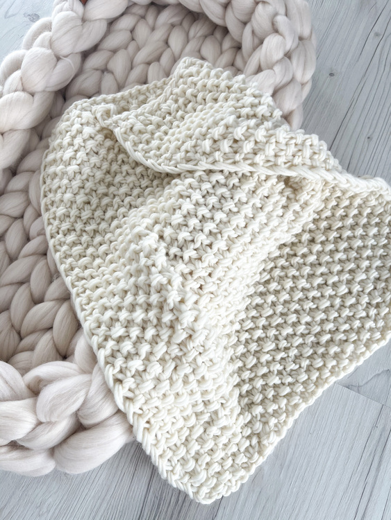 PERUVIAN WOOL DELUXE BABY SET, NATURAL WHITE