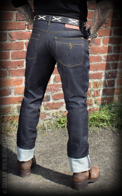 77075da657f Jeans Male Slim Fit RAW Denim 36 38 - Rockin  Panda