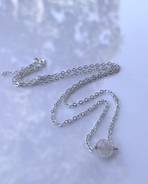 Athena halsband - silver