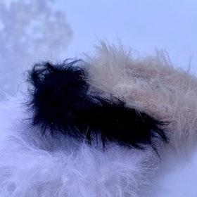 Doris hårsnoddar - trepack, olika färger