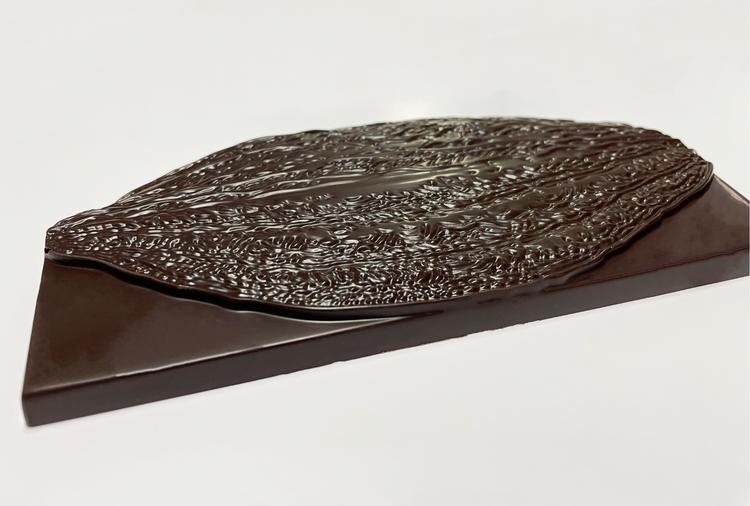 Mørk kakao plate