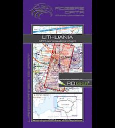 VFR Karta Litauen 1:500 000