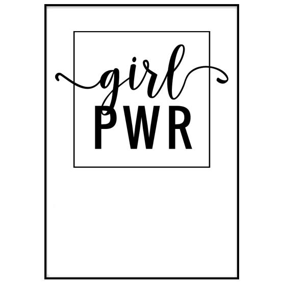 Poster: Girl PWR